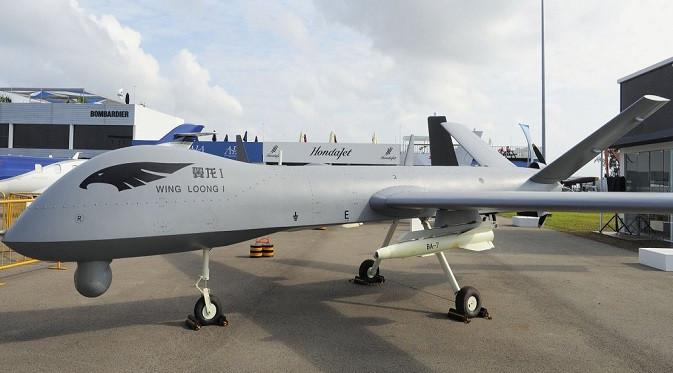 Drone Militer Wing Loong. Dok: IHS Markit