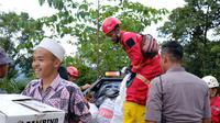 PT ANTAM Tbk (ANTAM) bersama Mining Industry Indonesia (MIND ID) bersinergi dengan Dandim 0603 Lebak, Banten melakukan penanganan dampak banjir di Kabupaten Lebak.