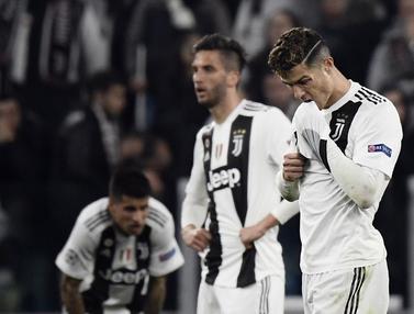 Ronaldo Gagal Bawa Juventus Lolos ke Semifinal