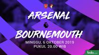 Premier League - Arsenal Vs AFC Bournemouth (Bola.com/Adreanus Titus)