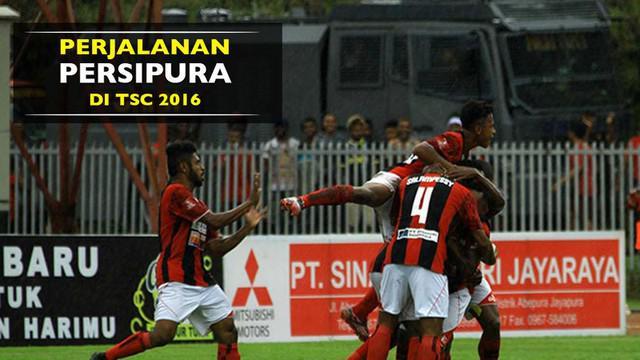 Video perjalanan, data, dan statistik Persipura Jayapura selama mengarungi Torabika Soccer Championship 2016 presented by IM3 Ooredoo.
