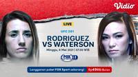 Streaming UFC Vegas 26 : Marina Rodriguez vs Michelle Waterson di FOX Sports. (Sumber : dok. vidio.com)