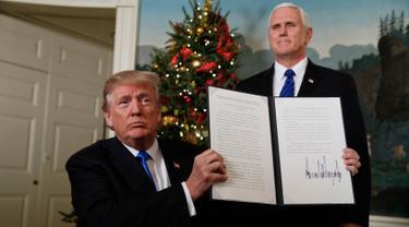 Ini Dokumen yang ditandatangani Donald Trump