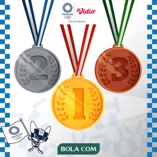 Klasemen Sementara Medali Olimpiade Tokyo 2020, Selasa 3 ...
