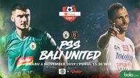 Shopee Liga 1 - PSS Sleman Vs Bali United - Head to Head Pemain (Bola.com/Adreanus Titus)