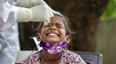 FOTO: Geser Brasil, India Kedua Terbanyak Kasus COVID-19
