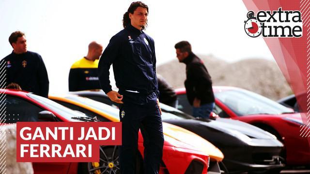 Berita video Extra Time kali ini mengangkat kisah striker AC Milan, Zlatan Ibrahimovic, yang pernah membeli Ferrari karena mobilnya yang sebelumnya sama dengan punya orang lain.
