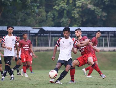 Foto Liga 1: Laga Uji Coba Persita Tangerang Melawan PSG Pati Berakhir Tanpa Gol