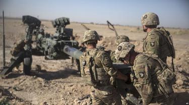 Tentara Amerika Serikat di Afghanistan pada Juni 2017 (File / AP PHOTO)