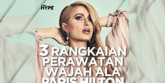 Apa saja perawatan wajah sebelum tidur ala Paris Hilton? Yuk, cek video di atas!