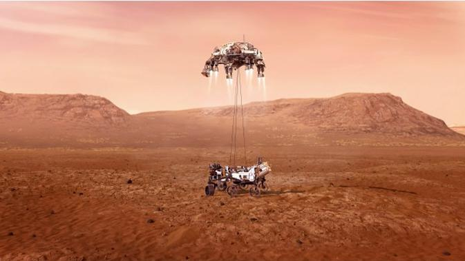 Sejarah di Balik Nama Kawah Jezero, Lokasi Pendaratan Rover NASA di Mars