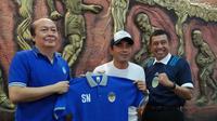 PSIM Yogyakarta resmi merekrut Seto Nurdiyantoro sebagai pelatih kepala di Liga 2 2020. (Bola.com/Vincentius Atmaja)