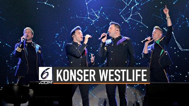 Westlife akan gelar konser di Semarang pada 1 September 2019.
