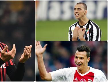 Perubahan Gaya Rambut Zlatan Ibrahimovic dari Botak Hingga Gondrong