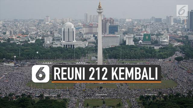 Reuni Akbar Alumni 212 akan diadakan lagi di Monas. Diketahui Gubernur DKI Jakarta Anies Baswedan telah memberi izin.