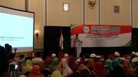 Anies Baswedan di acara Ijtima Ulama GNPF. (Liputan6.com/Putu Merta Surya Putra)