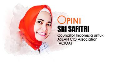 Sri Safitri, Co Founder Indonesia Cyber Security Forum (ICSF) dan Councillor Indonesia untuk ASEAN CIO Association (ACIOA)