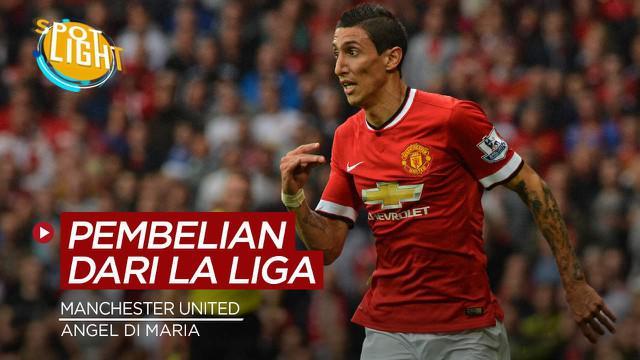 Berita video spotlight kali membahas tentang pemain termahal yang di boyong Manchester United dari La Liga.
