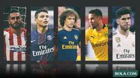 Kolase - Pemain yang Pernah Menolak Barcelona (Bola.com/Adreanus Titus)