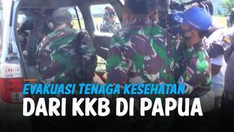 VIDEO: Detik-Detik Evakuasi 9 Nakes yang Disandera KKB di Papua