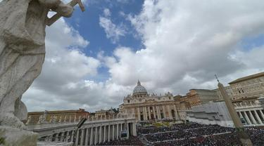 Ilustrasi negara Vatikan (AFP Photo)