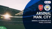 Piala Liga Inggris_Arsenal Vs Manchester City (Bola.com/Adreanus Titus)