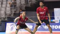 Pasangan ganda campuran Indonesia Praveen Jordan/Debby Susanto berhasil lolos ke final Korea Open 2017. (twitter.com/INABadminton)