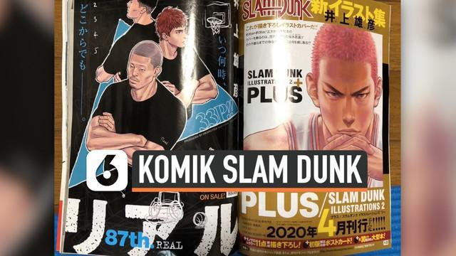 Setelah lama vakum, akhirnya komik populer asal Jepang, Slam Dunk akan merilis serial komik terbaru. Komikus Takehiko membocorkannya lewat akun twitternya.