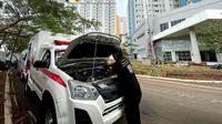 Ambulans dan Mobil Jenazah di Wisma Atlet Dapat Servis Gratis (Ist)