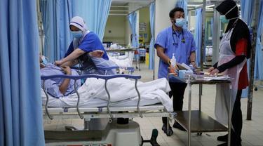Penanganan Kasus COVID-19 di rumah sakit Malaysia