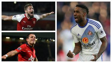 Seorang striker yang dimainkan dari bench diharapkan langsung nyetel dengan irama pertandingan. Gol diharapkan dicetak untuk mengejar ketinggalan atau memperbesar keunggulan. Berikut 7 striker yang tajam sebagai pemain pengganti dalam sejarah Premier League. (Kolase Foto AFP)