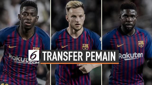 Untuk mendapatkan kembali Neymar, Barcelona siap menyerahkan 3 pemainnya. Mereka adalah Ousmane Dembele, Ivan Rakitic dan Samuel Umtiti. Diketahui, ketiganya merupakan pemain yang diminati Paris Saint Germain.