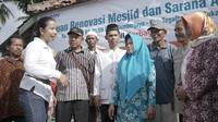Menteri Badan Usaha Milik Negara (BUMN) Rini Soemarno melakukan kunjungan kerja ke Sukabumi bagian Selatan. (Dok Kementerian BUMN)