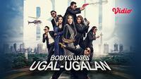 Saksikan film komedi Bodyguard Ugal-Ugalan melalui aplikasi streaming Vidio. (Dok. Vidio)
