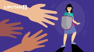 Ilustrasi kekerasan kepada perempuan (Liputan6.com / Abdillah)