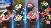 MotoGP - 4 Pembalap yang Jika Performanya Buruk Tidak Akan Mengagetkan di MotoGP 2021 (Bola.com/Adreanus Titus)