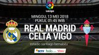 La Liga_Real Madrid Vs Celta Vigo (Bola.com/Adreanus Titus)