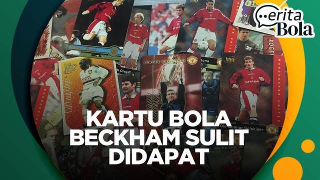 Berita video CERITA BOLA kali ini dari jurnalis Bola.com, Gerendo Pradigdo, soal koleksi kartu bola Manchester United miliknya dan sulitnya mendapatkan edisi David Beckham.