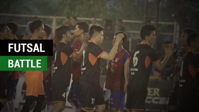"""Berita video keistimewaan turnamen yang bertajuk """"Super Soccer Futsal Battle 2017"""" yang kini sudah memasuki babak grand final."""