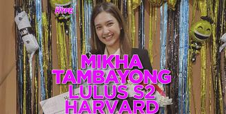 Mikha Tambayong Lulus S2 Harvard University, Persembahkan Gelar Master untuk Mendiang Mama