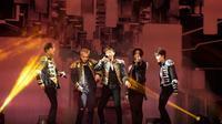 Secara perdana, WINNER menggelar konser di Jepang yang disambut dengan histeria penggemarnya [foto: Korea Star Daily]