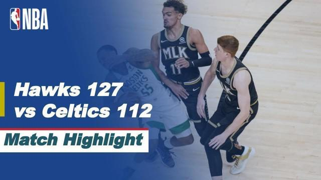 Berita Video Highlights NBA, Atlanta Hawks Kalahkan Boston Celtics 127-112 (25/2/2021)