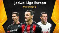 Matchday keenam Liga Europa 2020/2021, Jumat (11/12/2020) dapat disaksikan melalui platform streaming Vidio. (Dok. Vidio.)