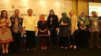 Menkominfo Rudiantara (ketiga dari kiri) di acara Konferensi Nasional Internet Aman untuk Anak – TEM@N ANAK di Jakarta, Selasa (6/2/2018) (Foto: Kementerian PPPA)