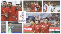 Kolase - Timnas Indonesia Di Sea Games 2019 (Bola.com/Adreanus Titus)