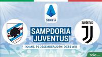 Serie A - Sampdoria Vs Juventus (Bola.com/Adreanus Titus)