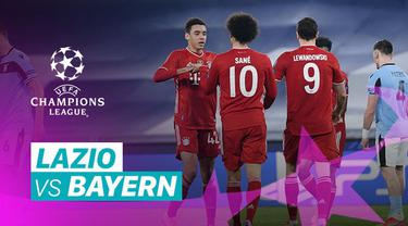 Berita video gol-gol yang tercipta dan beragam peluang yang terjadi pada laga leg I babak 16 Besar Liga Champions 2020/2021 antara Lazio melawan Bayern Munchen, Rabu (24/2/2021) dinihari WIB.