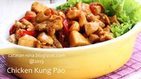 Menu kali ini merupakan perpaduan masakan Cina dan Indonesia karena telah dimodifikasi.