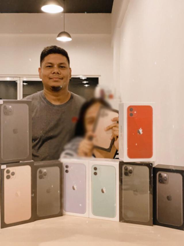 Seorang Pria Membeli Iphone 11 Sebanyak 9 Unit Khusus Untuk Sang Istri