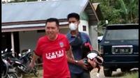 Bupati Kolaka Timur, Syamsul Bahri Madjid, meninggal dunia usai bermain bola, Jumat (19/3/2021).(dokumen warga).
